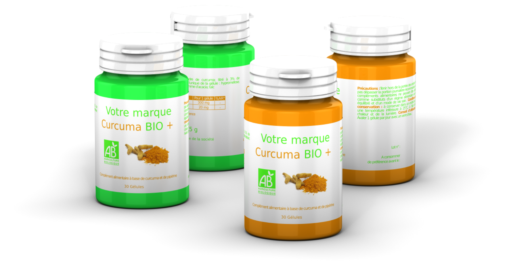 marque blanche complements alimentaires